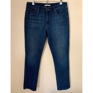 Levi's • 16 • Mid Rise Skinny Denim Jean